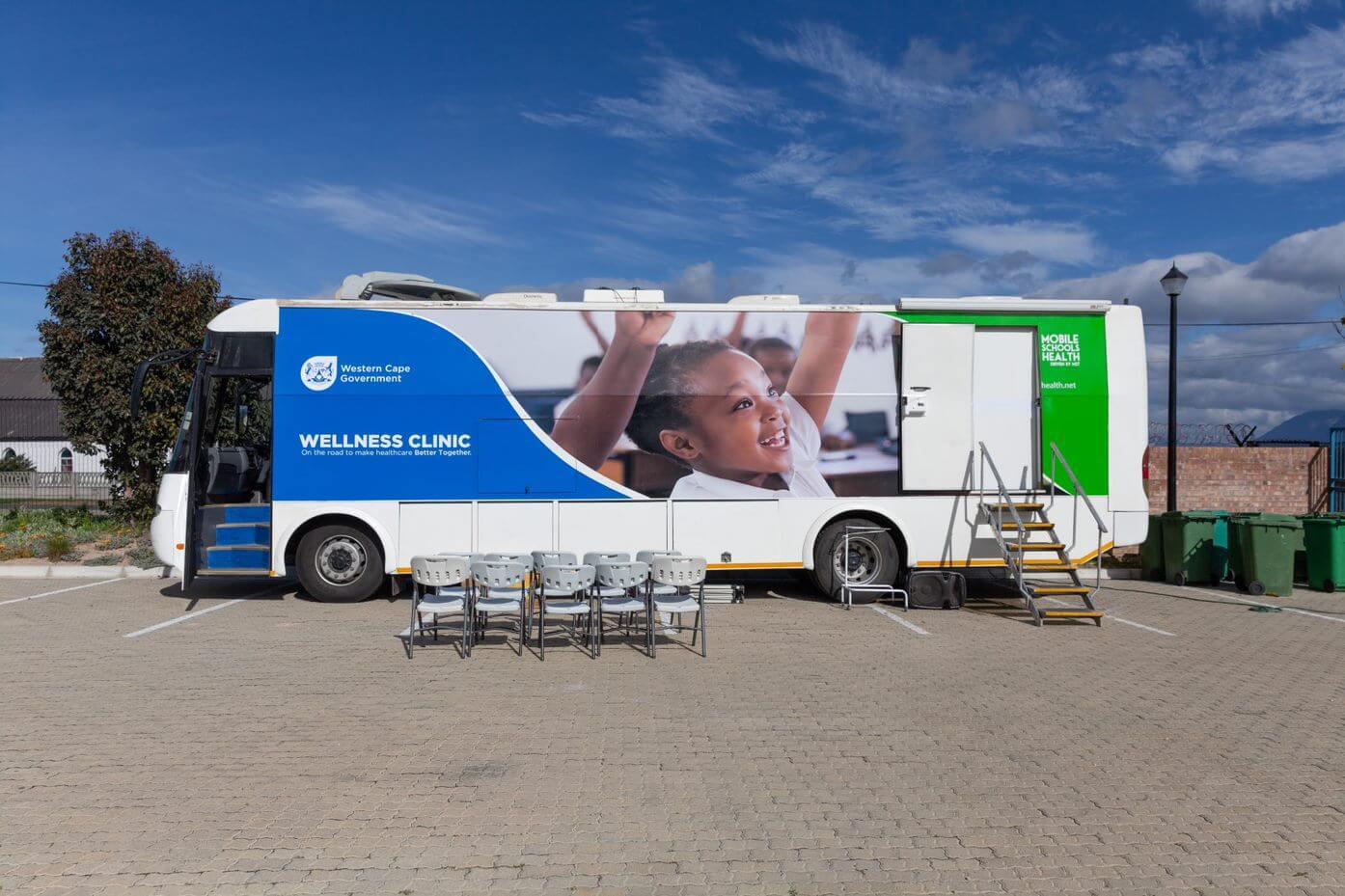 Mobile Schools Health mobile unit