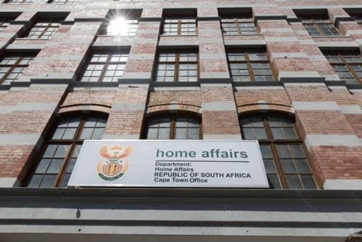 Home Affairs building in Cape Town
