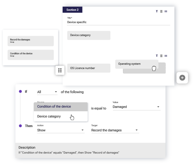 Flexible form builder screenshot